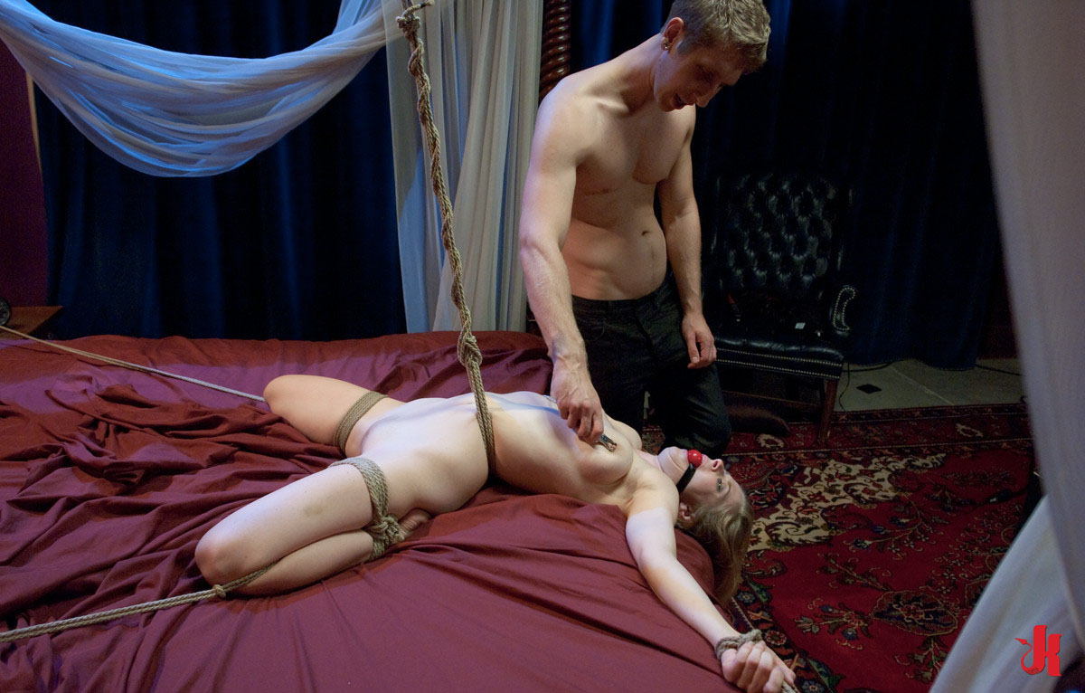 Forced Bondage Sex sex and slaves - blonde caught sleepingthief and forced